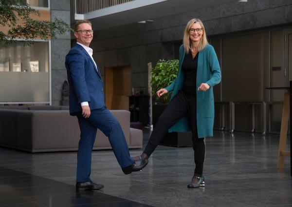 Salary Brian Brorsbøl og Codan Camilla Amstrup