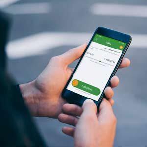 Salary Swipe mobil telefon